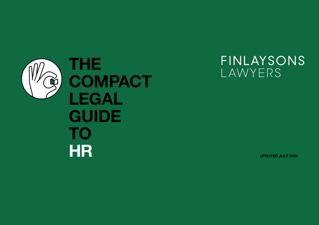 Compact legal guide to hr
