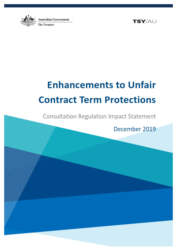 Enhancements to UCT Protections Consultation document