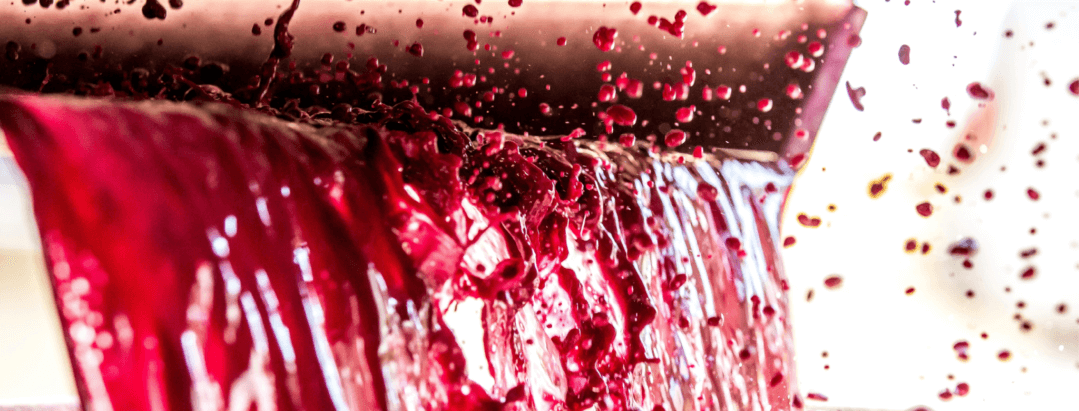 making red wine